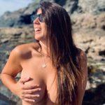 Anabel Pantoja se queda en topless