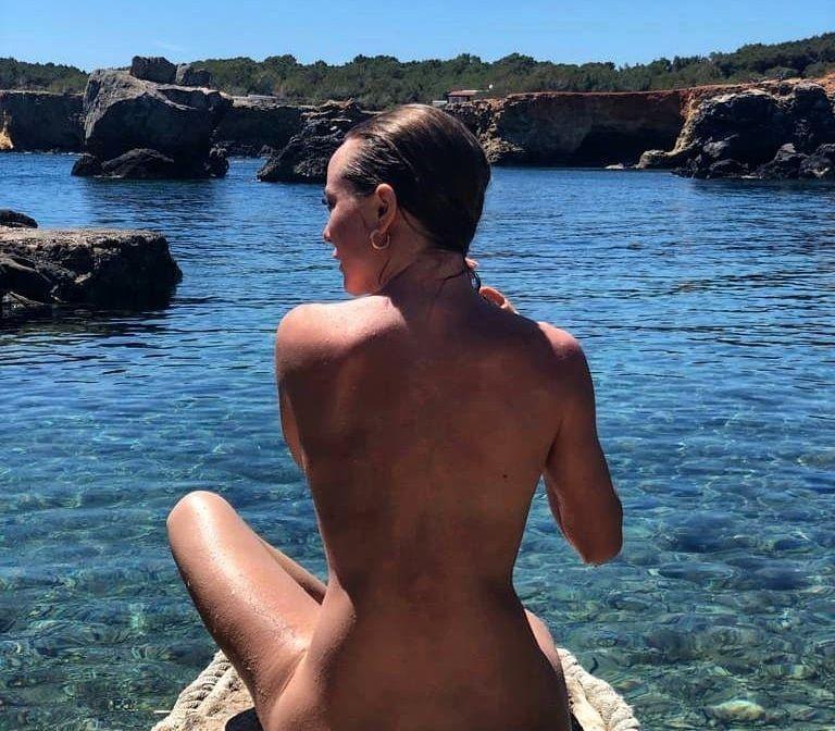 ángela Cremonte Se Queda Desnuda En Instagram